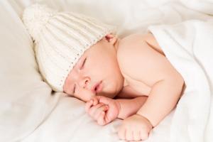Spánek - Obrázek spícího dítěte